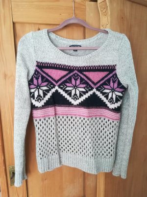 American Eagle Outfitters Pull en laine multicolore
