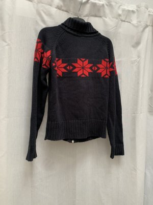 Mogul Norwegian Cardigan dark blue-dark red