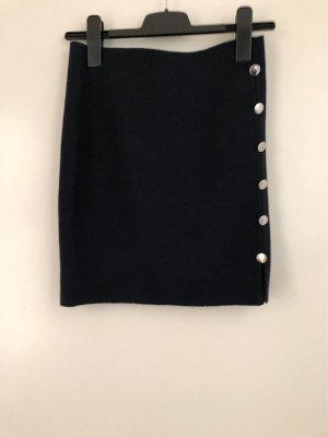 Orsay Wool Skirt dark blue