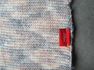 s. Oliver (QS designed) Bufanda de lana multicolor