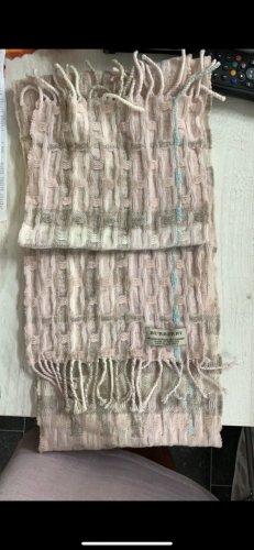 Burberry Woolen Scarf pink cashmere