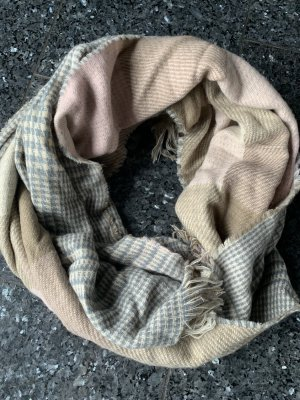 Woolen Scarf natural white-rose-gold-coloured