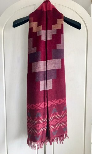 H&M L.O.G.G. Bufanda de flecos multicolor