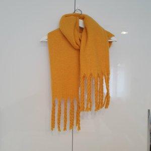 COS Bufanda de flecos amarillo oscuro