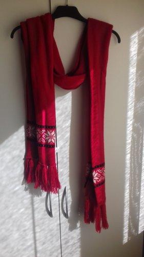 Ulla Popken Sciarpa lavorata a maglia multicolore