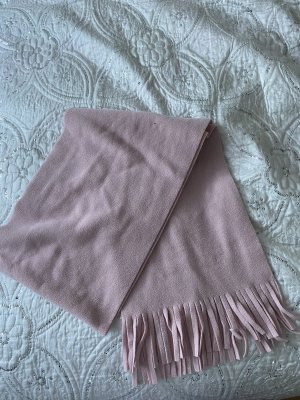 H&M Bufanda de lana rosa empolvado