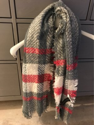 Pieces Woolen Scarf multicolored