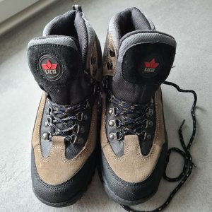 Lico Winter Boots black-light brown