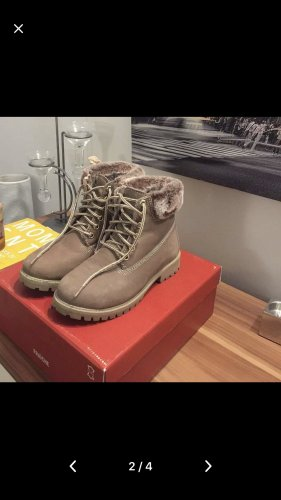Buty zimowe beżowy