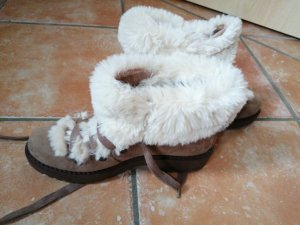 Winter Boots brown-natural white