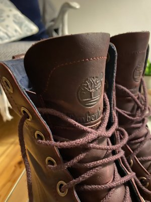 Timberland Bottes d'hiver brun rouge