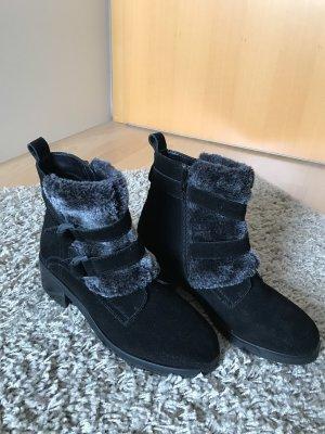 Spm Winter Booties black leather