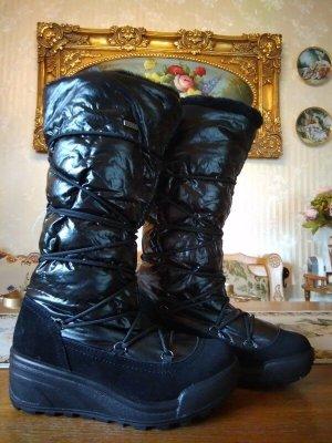 Winterstiefel, Boots, DEITEX, schwarz, gefüttert, Gr. 38