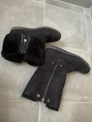 Graceland Botas de piel negro