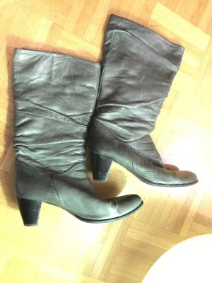 Made in Italy Botas slouch gris