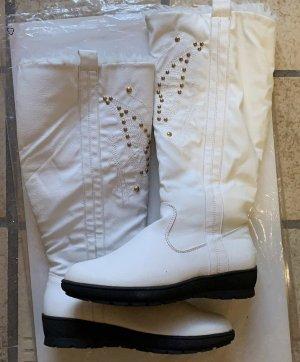 Bader Buty zimowe biały