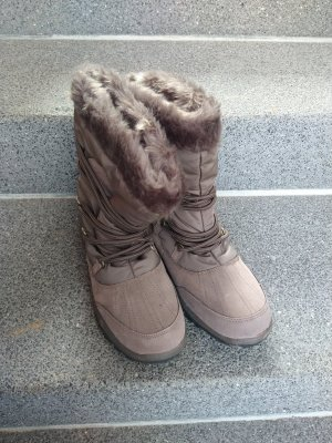 Aldi Winter Boots grey brown