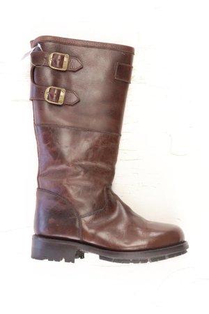Winterstiefel Größe 38 braun aus Leder