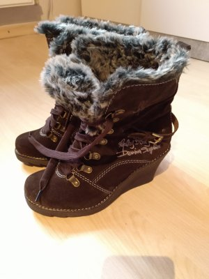 Replay Winter boots donkerbruin