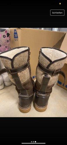 Winter Boots dark brown-grey brown