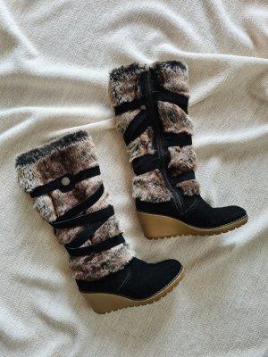 s.Oliver Winter Boots black-brown