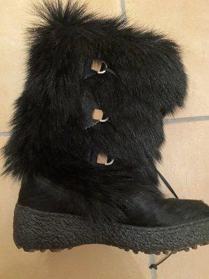 Oscar Sport Futrzane buty czarny