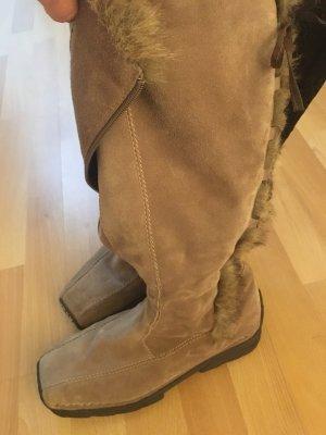 Winter Boots camel