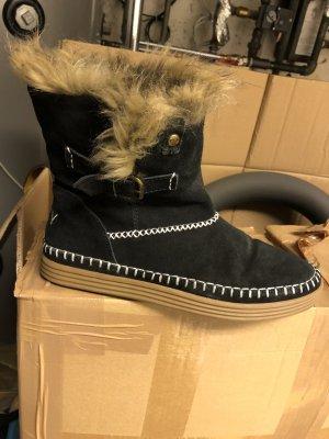 Roxy Bottes d'hiver noir-marron clair