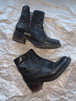 Tommy Hilfiger Short Boots black leather
