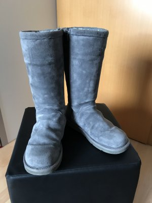 UGG Winter Boots grey leather