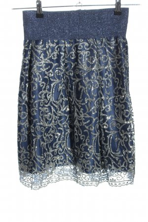 Wish Tulle Skirt blue-silver-colored mixed pattern casual look