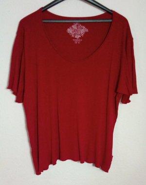 WISSMACH Ausgeschnittenes Shirt Größe XXL Rot