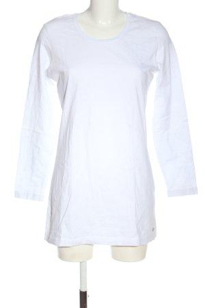 Wissmach Basic-Shirt weiß Casual-Look