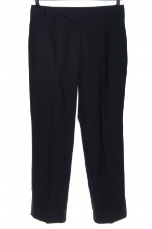 Wissmach Bundfaltenhose schwarz Business-Look