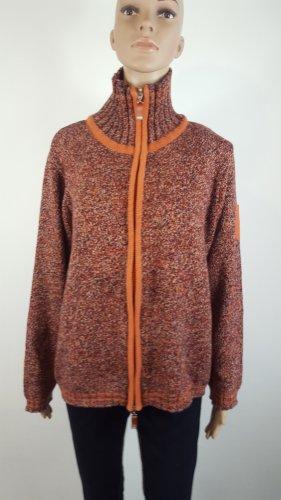 Wissmach Collection Damen Strickjacke Cardigan Größe XL orangebraun