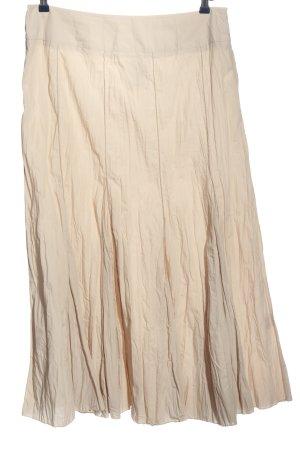Wissmach Flared Skirt cream casual look