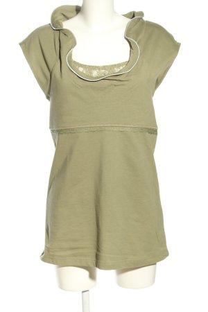 Wissmach Jerseykleid khaki Casual-Look