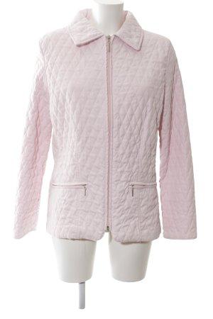 Wissmach Giacca lunga rosa motivo trapuntato stile casual