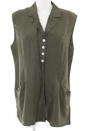 Wissmach Long-Bluse khaki Business-Look