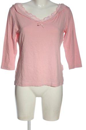 Wissmach Longsleeve pink Casual-Look