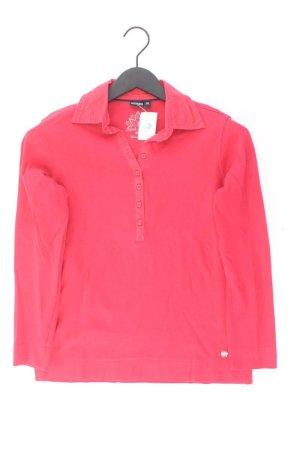 Wissmach Poloshirt Größe 38 Langarm rot aus Baumwolle