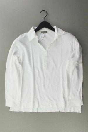 Wissmach Poloshirt Größe 42 Langarm weiß aus Baumwolle