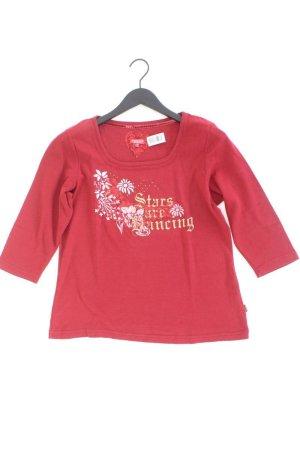 Wissmach Printshirt Größe L neuwertig 3/4 Ärmel rot aus Baumwolle