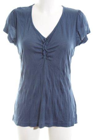 Wissmach Shirttunika blau Casual-Look