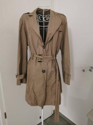 wissmach Trenchcoat Mantel lange Jacke beige