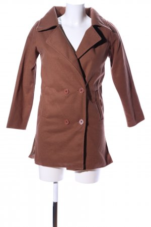 Witchery Frock Coat brown casual look