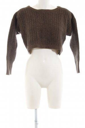 Witchery Strickpullover braun meliert Casual-Look