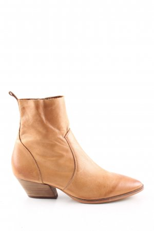 Wittner Booties nude-braun Business-Look