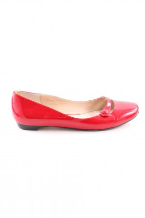 Wittner Lackballerinas rot Casual-Look