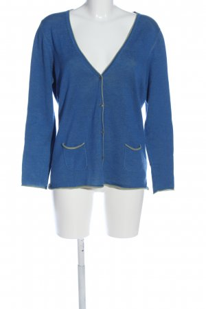 Witty Knitters Cardigan blau Casual-Look